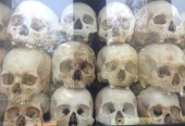 Killing fields memorial, Cambodia